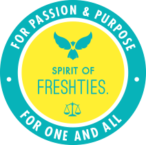 Spirit of FreshTies - For Passion & Purpose | For One and All